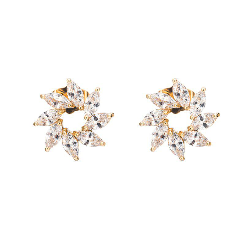 Affordable Fine Zircon Earrings ERZ0609