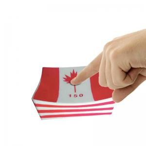 Jumbo Squishy Slow Rising parfumée Squeeze Toy Canada Flag -