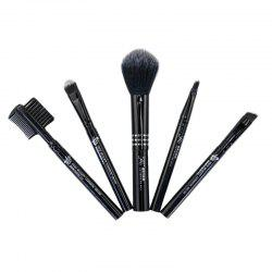 Makeup Brush Set Soft Functional Versatile High Quality 5pcs -