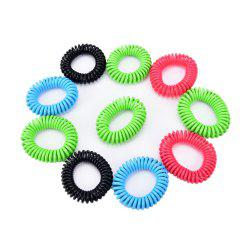 10Pcs Mosquito Repellent Bracelet Natural Plant Oils Pest Control 360 Hours -