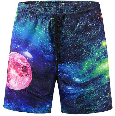 Affordable Men's Summer 3D Casual Beach Quick Drying Swim Shorts