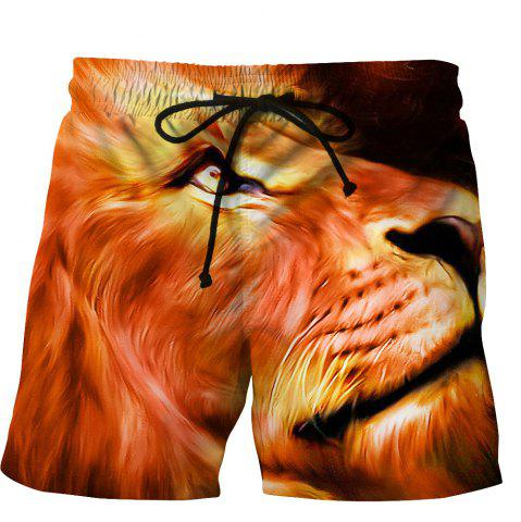 Outfit Men's Summer 3D Casual Beach Quick Drying Swim Shorts
