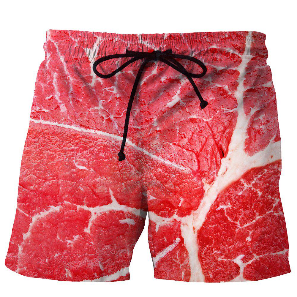 Sale Men's Summer 3D Casual Beach Quick Drying Swim Shorts