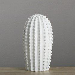 Nordic Home Simple décoration de vent Or blanc Cactus Ornement 1pcs -