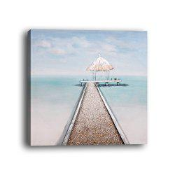 Framed Canvas Modern Room Bedroom Background Wall Small Fresh Seaside Print -
