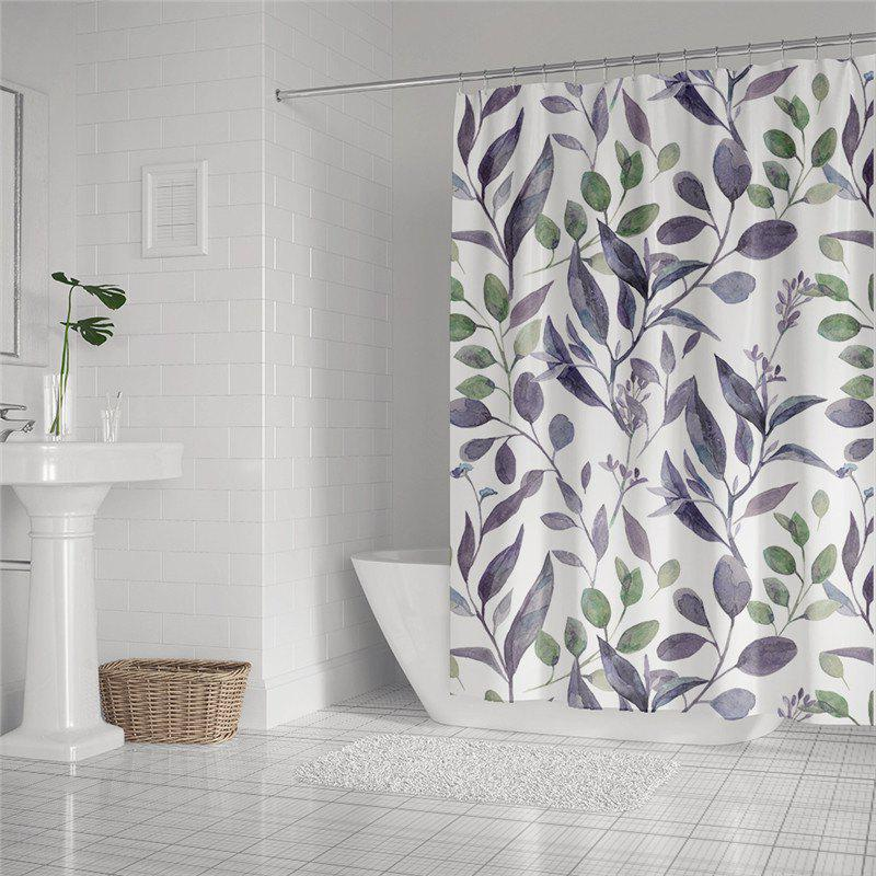 Unique Fashionable Creative Digital Printing Waterproof Shower Curtain S-AS67