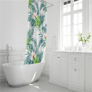 Fashionable Creative Digital Printing Waterproof Shower Curtain S-AS68 -