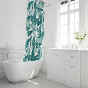 Fashionable Creative Digital Printing Waterproof Shower Curtain S-AS70 -