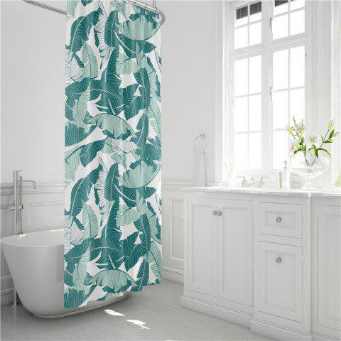 Discount Fashionable Creative Digital Printing Waterproof Shower Curtain S-AS70