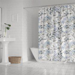 Fashionable Creative Digital Printing Waterproof Shower Curtain S-AS72 -