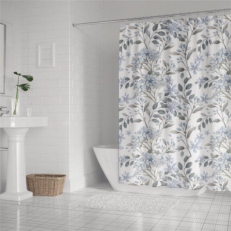 Chic Fashionable Creative Digital Printing Waterproof Shower Curtain S-AS72