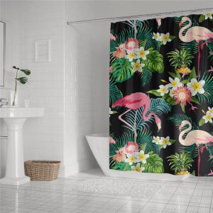 Fashionable Creative Digital Printing Waterproof Shower Curtain S-AS80 -