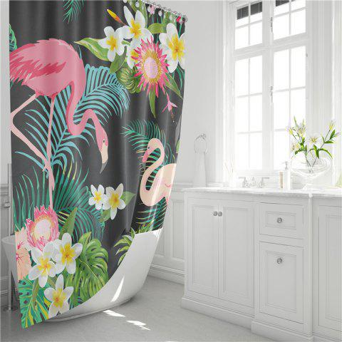Shops Fashionable Creative Digital Printing Waterproof Shower Curtain S-AS80