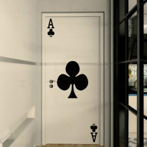Cute  Door Sticker Room Wall Decals Home Decor -
