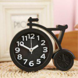 Creative Digital Bicycle Mute Alarm Clock -