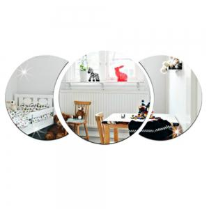 3D Personalized Stereo Crystal Mirror Wall Sticker -