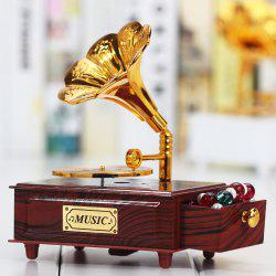 Creative Ancient Phonograph Music Box -