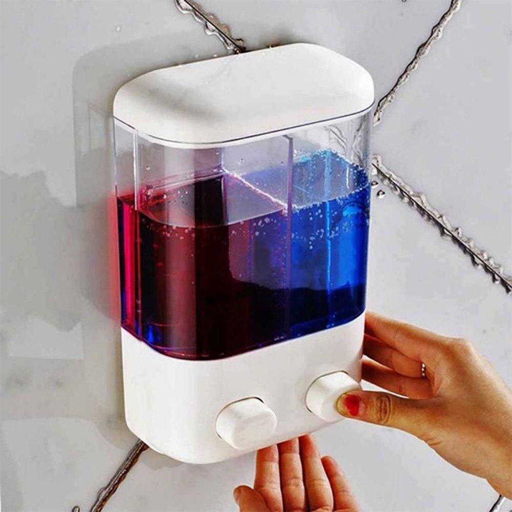 Hot Wall-mounted Liquid Soap Dispenser Lavatory Bath Shower Accessories