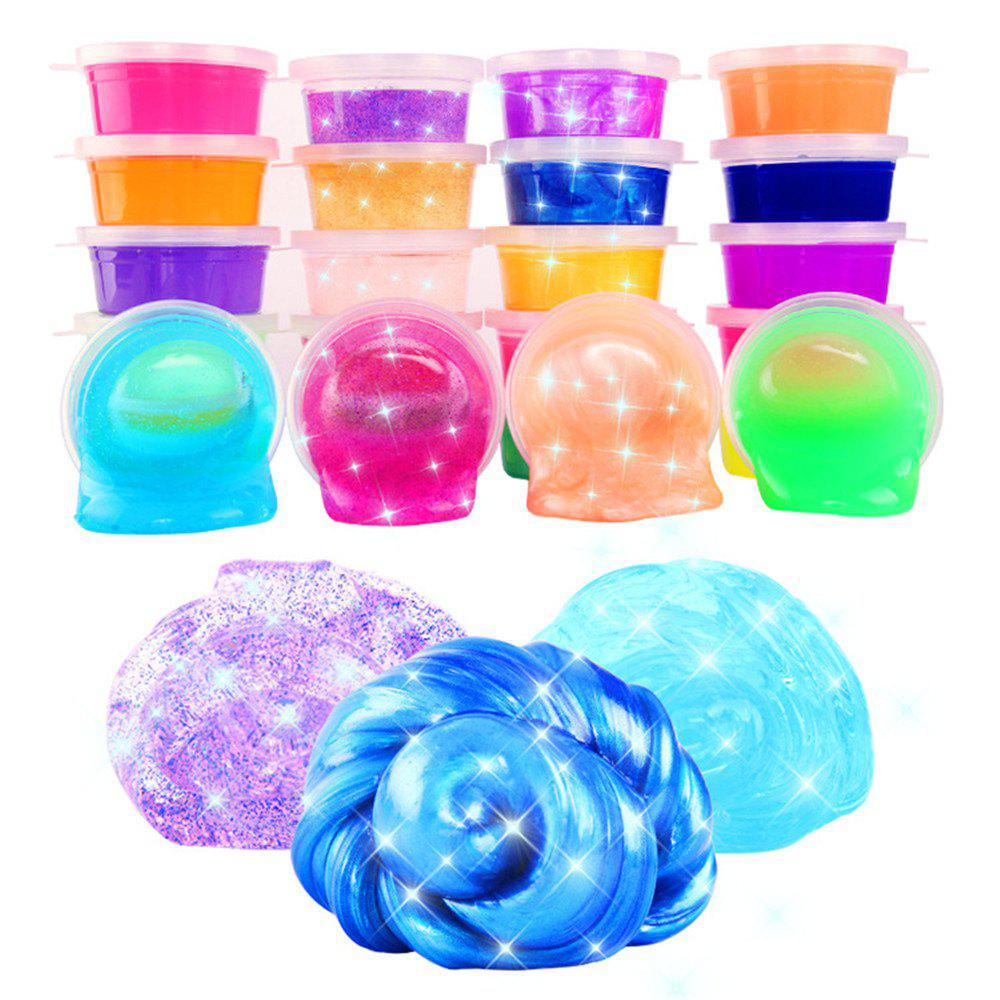 Colorful Crystal Non-toxic Jelly Color Mud 24PCS