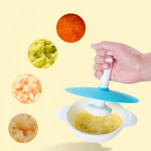 Multi-function Manual Baby Food Supplement Grinder 8pcs -