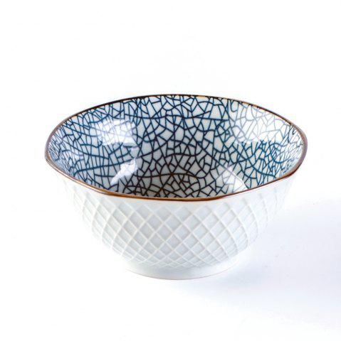 Trendy 1 Piece Simple Style Ceramic Household Rice Bowl