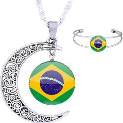 Necklace and Bracelet Fans Articles Souvenir Gift -