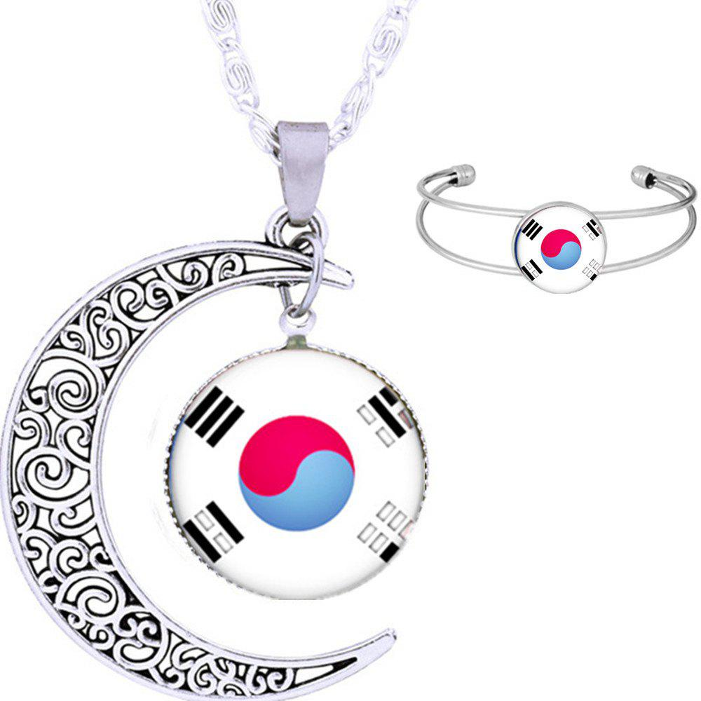 Outfit Necklace and Bracelet Fans Articles Souvenir Gift