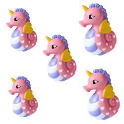 Emulation Slow Resilience Series of Lovely Elastic Hippocampal Toys 5PCS -