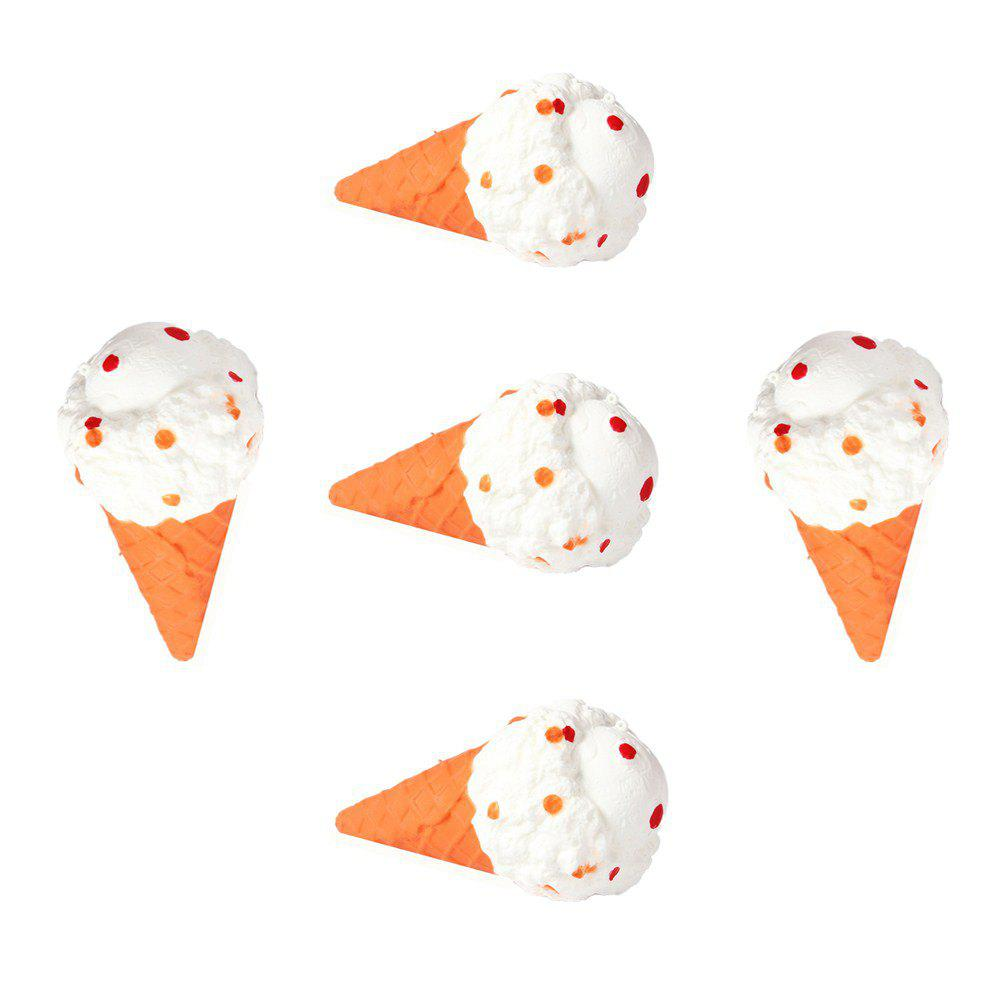Store Jumbo Squishy Emulation Slow Resilient Series of Lovely Elastic Ice Cream Toys 5PCS