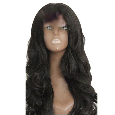 Unique Big Wave Front Lace Synthetic Wig Head Cover