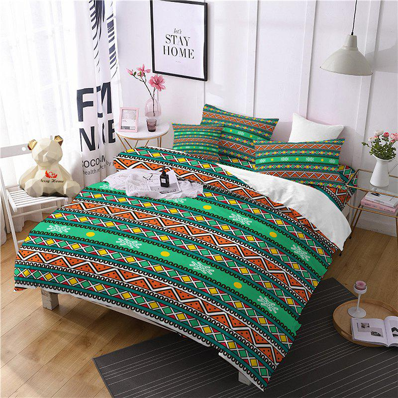 Shops Hot Selling Bohemia National Pattern Series Christmas Element Bedding Set BK111