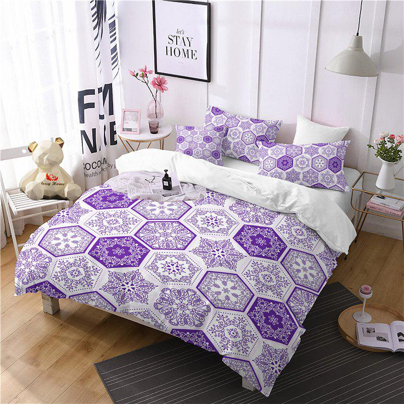 Shops Hot Selling Bohemia National Pattern Series Christmas Element Bedding Set GB82