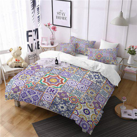 Store Hot Selling Bohemia National Pattern Series Christmas Element Bedding Set GB85