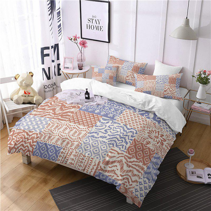 Latest Hot Selling Bohemia National Pattern Series Christmas Element Bedding Set GB93