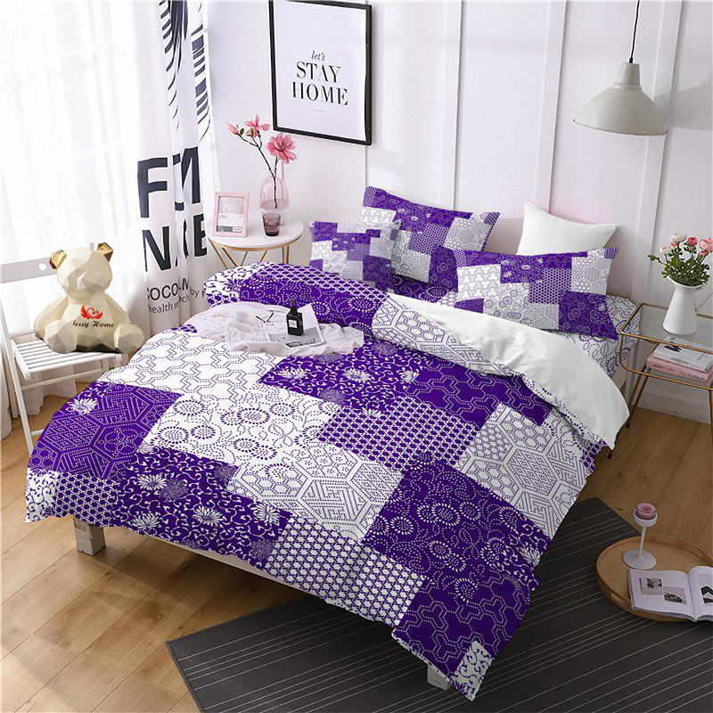Trendy Hot Selling Bohemia National Pattern Series Christmas Element Bedding Set GB98