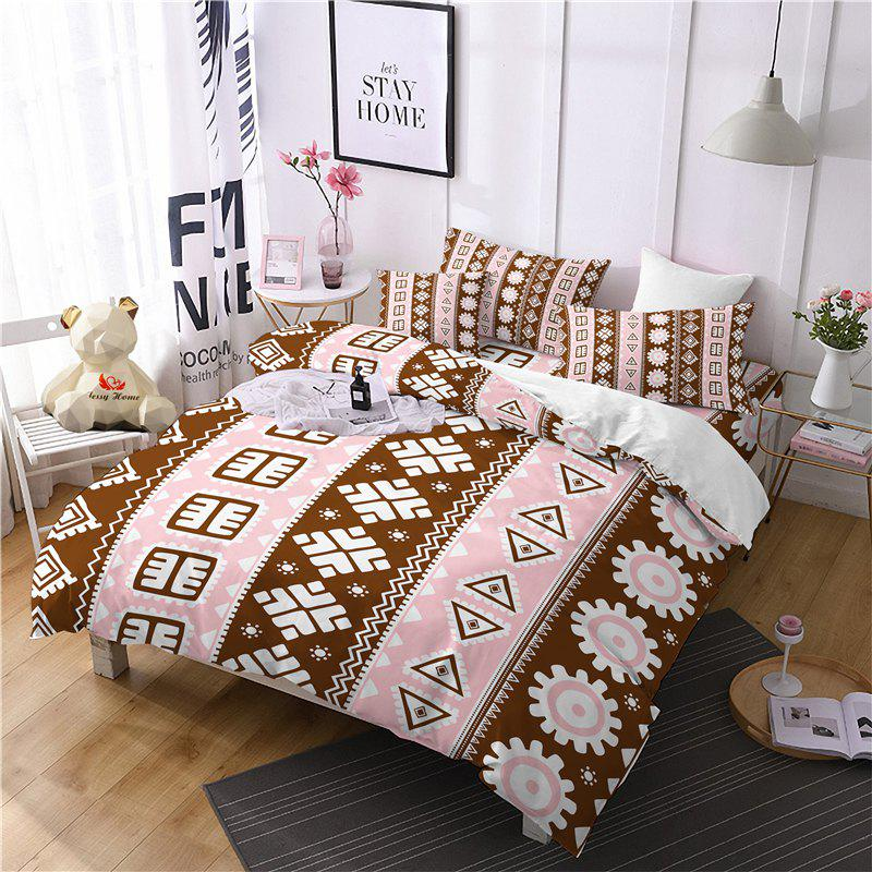 Shops Hot Selling Bohemia National Pattern Series Christmas Element Bedding Set GB116