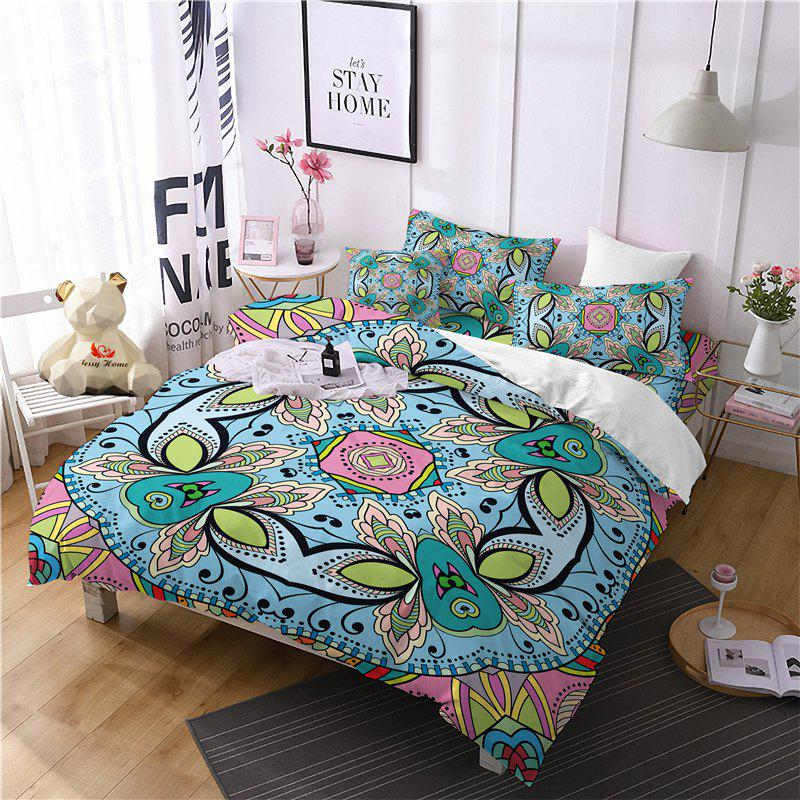 Outfit Hot Selling Bohemia National Pattern Series Christmas Element Bedding Set GB227