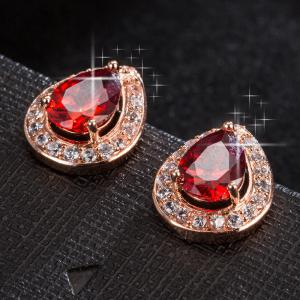 Exquisite Zircon Earrings ERZ0640 -
