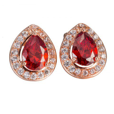 Outfits Exquisite Zircon Earrings ERZ0640
