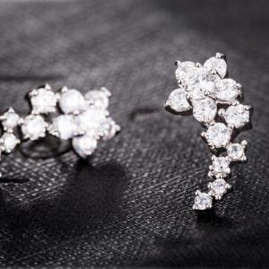 Fine Zircon Earrings ERZ0674 -