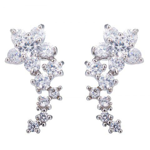 Trendy Fine Zircon Earrings ERZ0674