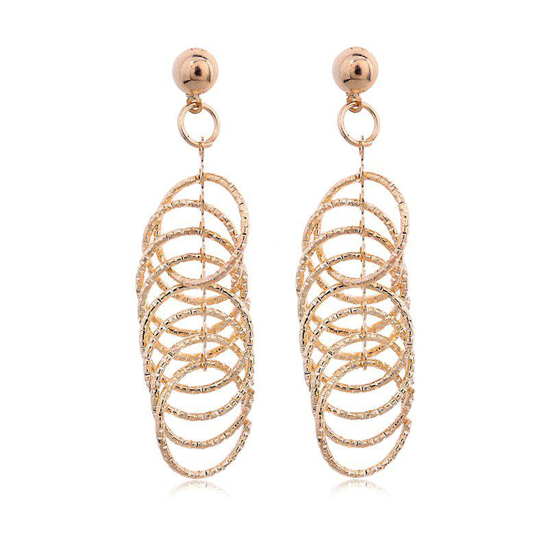 Unique Fashion Elegant 18K Gold Electroplate Earrings TP0020