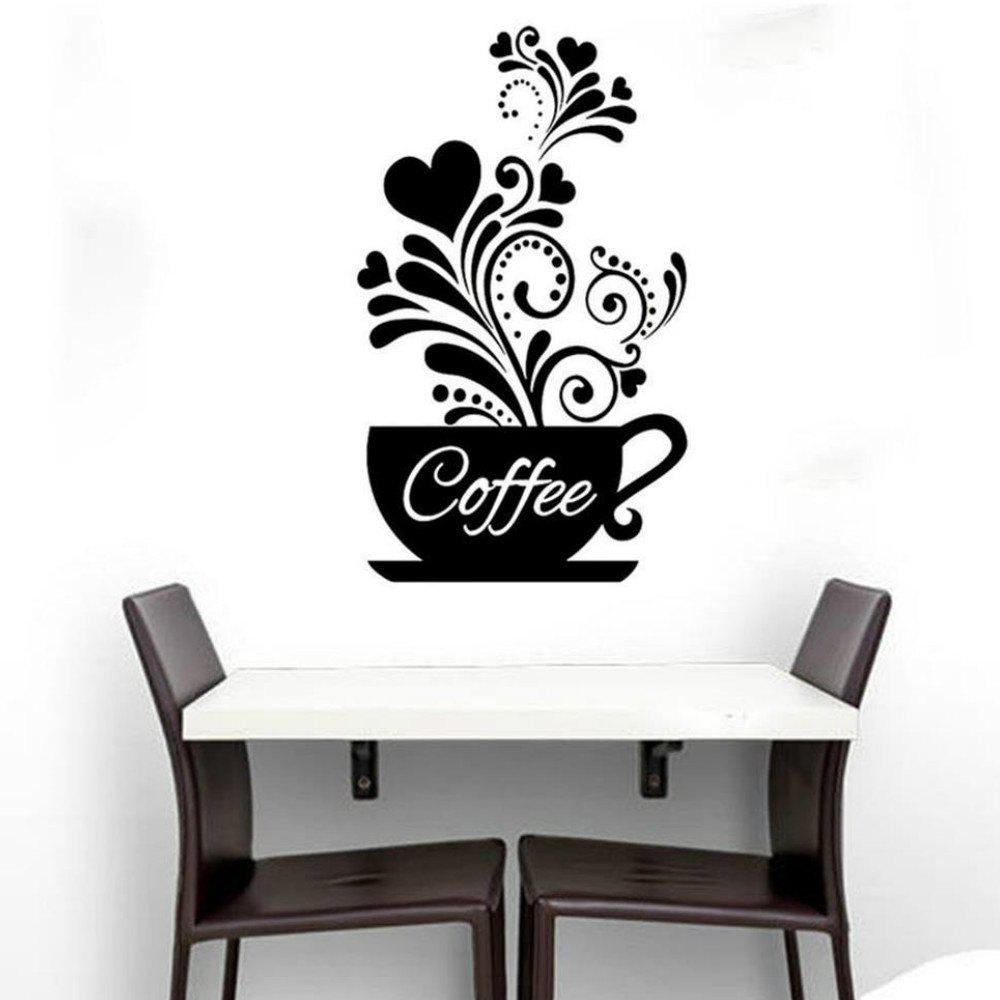 Best Coffee Cup Wall Sticker for Kitchen Decor