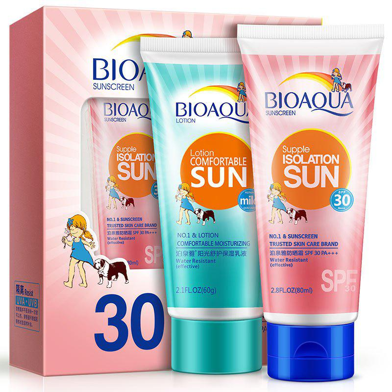 Outfit BIOAQUA Sunscreen and Moisturizing Emulsion Suit