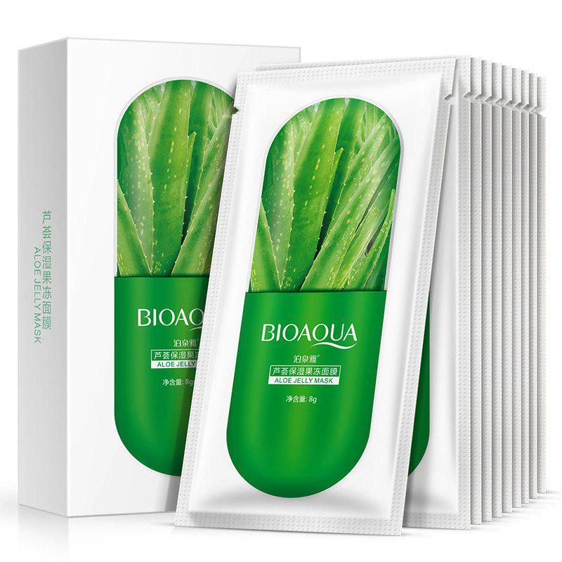 BIOAQUA Jelly Plant Essence Mask 10шт