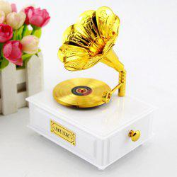 Creative Elegant Retro Gramophone Music Box -