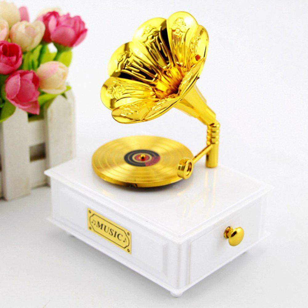 Buy Creative Elegant Retro Gramophone Music Box