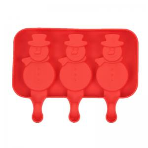 Silicone Ice Cream Mold Popsicle Molds Ice Tray Cube Tool -