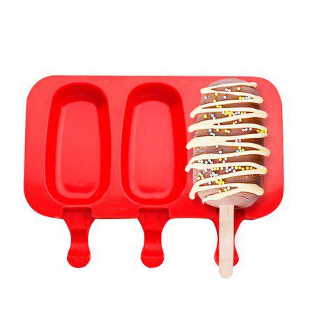 Fashion Silicone Ice Cream Mold Popsicle Molds Ice Tray Cube Tool