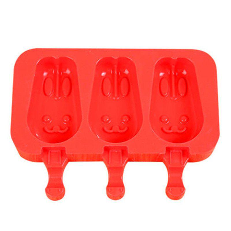 Trendy Silicone Ice Cream Mold Popsicle Molds Ice Tray Cube Tool